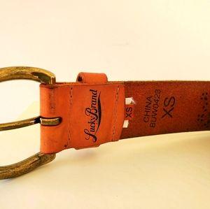 Leather Belt Lucky Brand